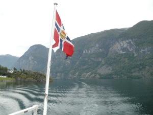 een van de vele fjorden
